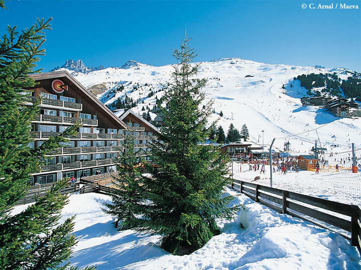 village vacances ski meribel