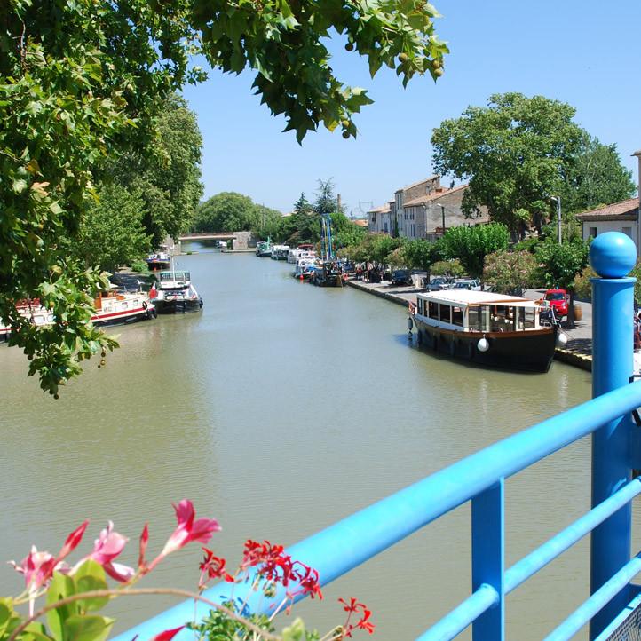 village vacances canal du midi sigean